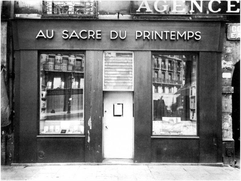 """La galerie """"Au sacre du Printemps"""""""